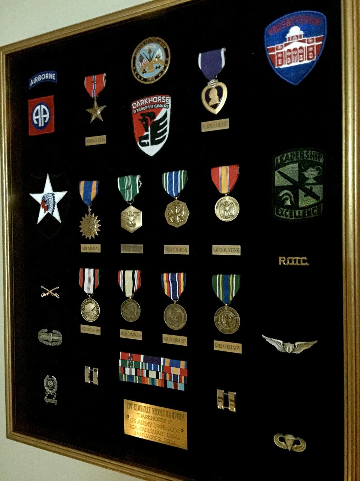 Captain Kimberly Hampton Awards and Decorations